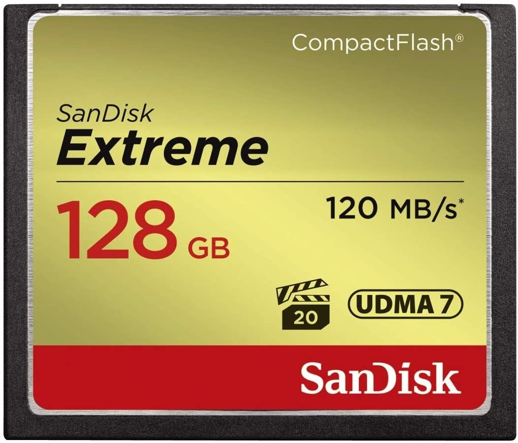SanDisk Extreme CompactFlash 128 GB