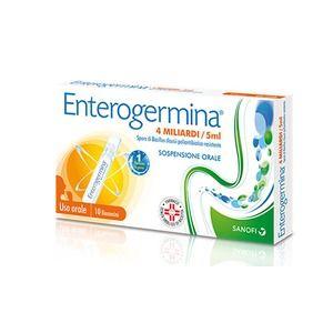 Sanofi Enterogermina 4 miliardi 10 flaconcini