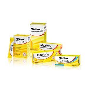 Sanofi Maalox Plus 200mg+200mg+25mg 30 compresse masticabili