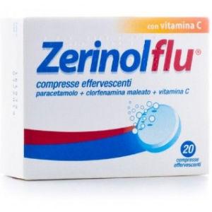 Sanofi Zerinolflu 20 compresse effervescenti