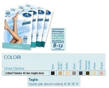 Sauber Collant Classico 40 Denari