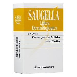 Saugella Detergente Solido Allo Zolfo 100g