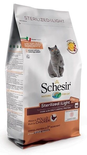 Schesir Dry Line Sterilized & Light (Pollo)