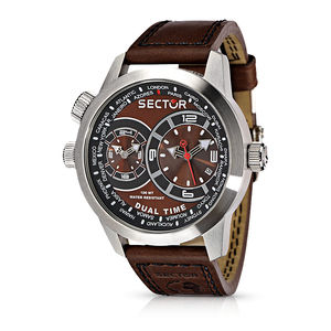Sector Dual Time Oversize 48MM R3251102055