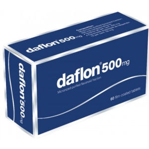 Servier Daflon 500mg 60 compresse rivestite
