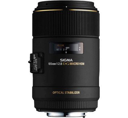 Sigma 105mm f/2.8 EX DG OS HSM - Canon EF