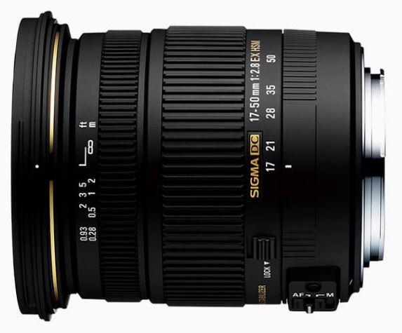 Sigma 17-50mm f/2.8 EX DC OS HSM - Nikon F