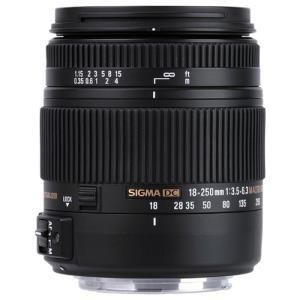 Sigma 18-250mm f/3.5-6.3 DC OS HSM - Canon EF-S