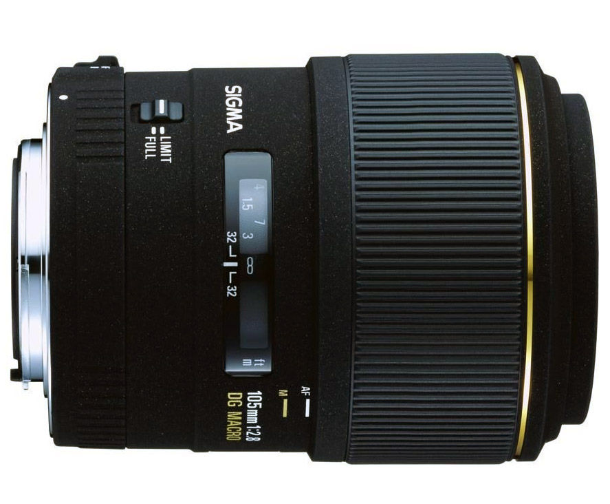 Sigma 105mm f/2.8 EX DG - Sigma SA
