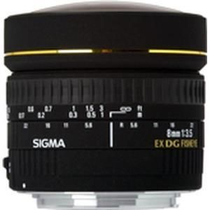Sigma 8mm f/3.5 EX DG - Nikon F
