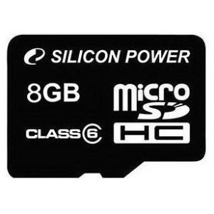 Silicon Power microSDHC 8 GB Class 6