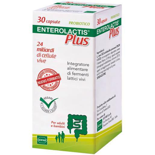 Sofar Enterolactis Plus Capsule 30 pezzi