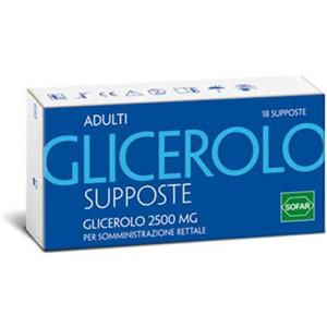 Sofar Glicerolo adulti 18supposte 2250mg