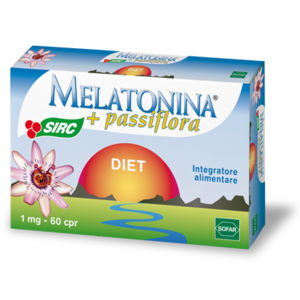 Sofar Melatonina Diet + Passiflora 60compresse