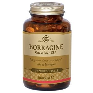 Solgar Borragine One a Day GLA 30perle