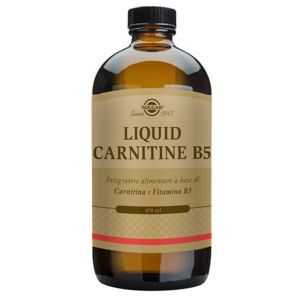 Solgar Liquid Carnitine B5 470ml