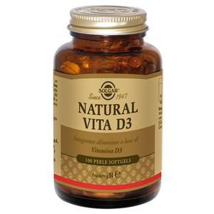 Solgar Natural Vita D3