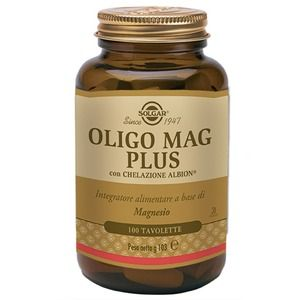 Solgar Oligo Mag Plus 100 tavolette