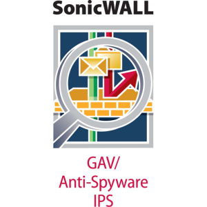 SonicWALL Gateway Anti-Malware, Intrusion Prevention and Application Control for NSA 220 Series