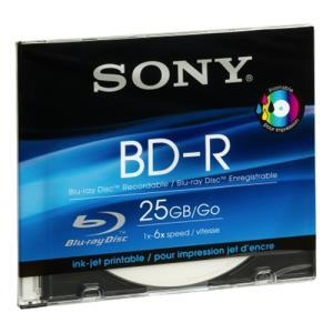 Sony BD-R 25 GB 6x Printable