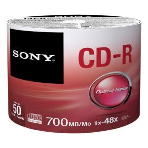 Sony CD-R 700 MB 48x (50 pcs) (Brick)