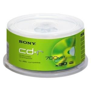 Sony CD-R 74 Min. (30 pcs cakebox)
