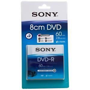 Sony dvd r 2 8 gb 2 pcs