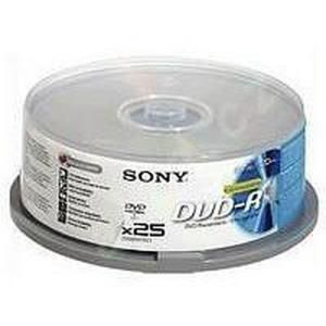 Sony DVD+R 4,7 GB 16x (50 pcs) Brick