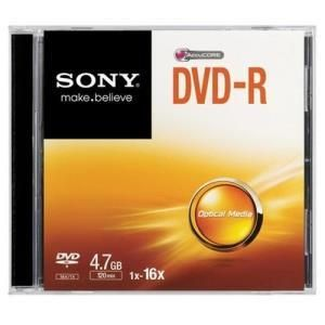 Sony DVD-R 4.7 GB 16x Slim
