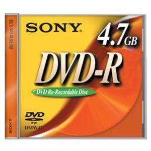 Sony DVD-R 4.7 GB 4x (3 pcs)