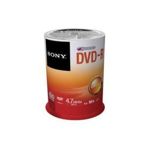 Sony DVD-R 4.7 GB 8x (100 pcs cakebox)