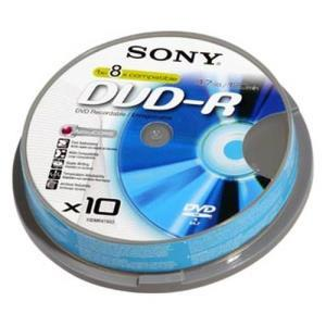 Sony DVD+R 4,7 GB 8x (10 pcs cakebox)