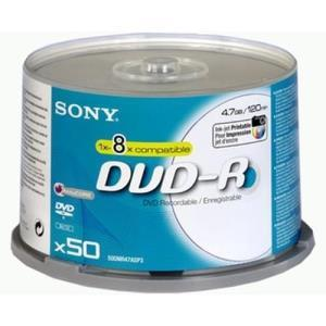 Sony DVD-R 4.7 GB 8x (50 pcs)