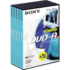 Sony DVD+R 4.7 GB 8x (5 pcs)