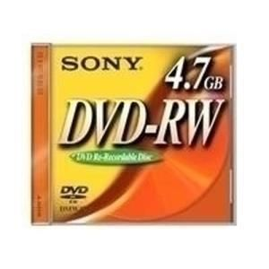 Sony dvd rw 4 7 gb