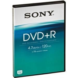 Sony DVD+R 4.7 GB 16x (10 pcs) box