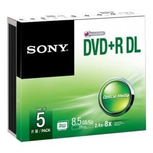 Sony DVD+R DL 8.5 GB 8x (5 pcs) Slim