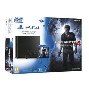 Sony PlayStation 4 1TB + Uncharted 4: Fine di un Ladro