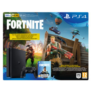 Sony PlayStation 4 (500GB) + Fortnite
