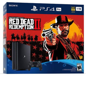 Sony PlayStation 4 Pro + Red Dead Redemption 2
