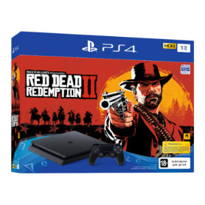 Sony PlayStation 4 Slim (1TB) + Red Dead Redemption 2