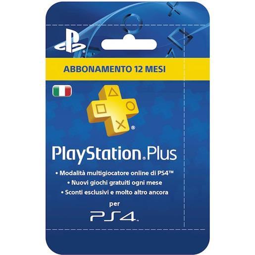 Sony Playstation Plus Abbonamento 12 mesi