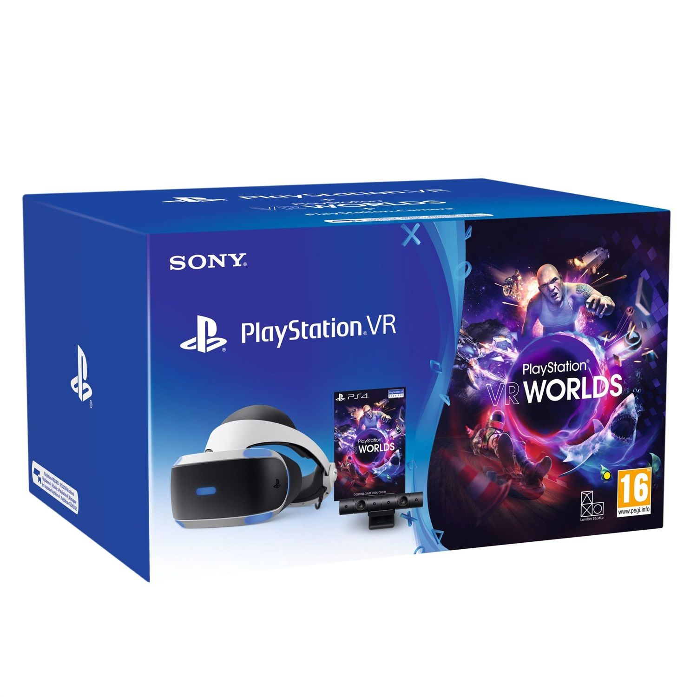 Sony PlayStation VR MK4 + VR Worlds