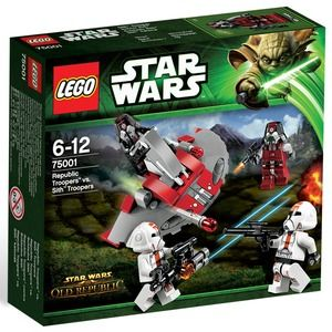 Lego Star Wars 75001 Republic Troopers contro trooper Sith