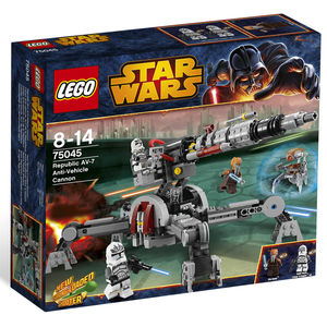 Lego Star Wars 75045 Republic AV-7 Anti-Vehicle Cannon