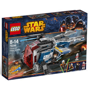 Lego Star Wars 75046 Republic Police Gunship