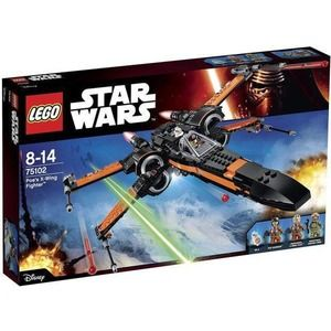 Lego Star Wars 75102 X-Wing Starfighter di Poe