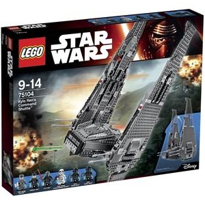 Lego Star Wars 75104 Kylo Ren?s Command Shuttle