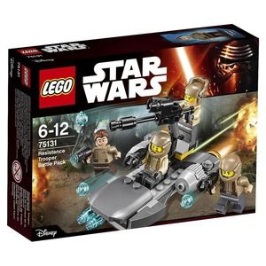 Lego Star Wars 75131 Battle Pack Resistenza