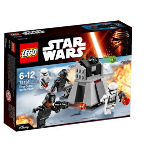 Lego Star Wars 75132 Battle Pack Primo Ordine